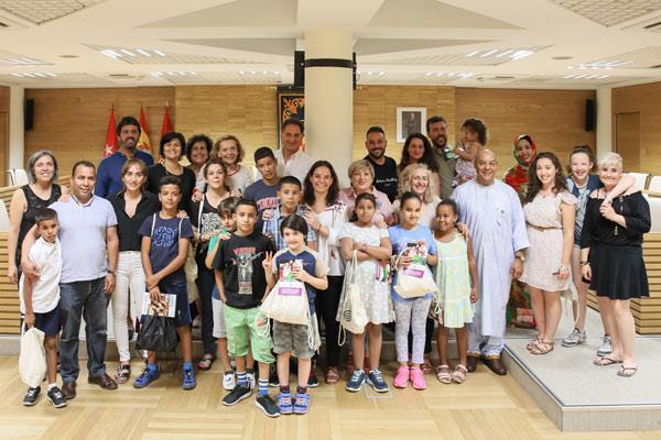 Getafe ha dado la bienvenida a niños y niñas saharauis