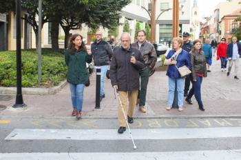 Una app dará información al usuario sobre el paso de peatones, como su longitud o circunstancais puntuales
