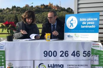 El ayuntamiento y Saint-Gobain Placo han renovado su acuerdo, comprometido con la Economía Circular