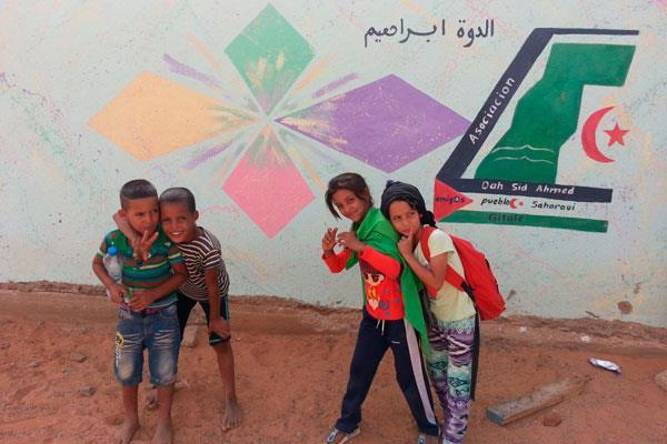 Getafe se vuelca con el pueblo saharaui