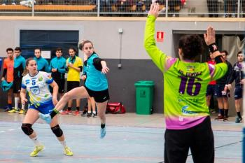 El primer equipo femenino de Getasur consiguió este domingo en La Alhóndiga los dos puntos en un partido importante dentro de la lucha por la permanencia en la División de Honor