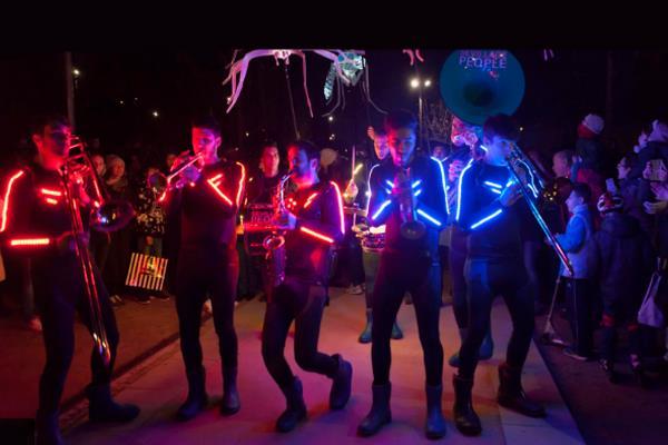 Gran Fiesta de la Luz en Madrid Río
