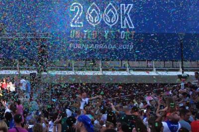 Lee toda la noticia 'Gran fiesta organizada para celebrar que Fuenlabrada es Ciudad Europea del Deporte 2019'