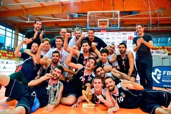 Baloncesto Alcalá gracias, somos equipo de Liga EBA