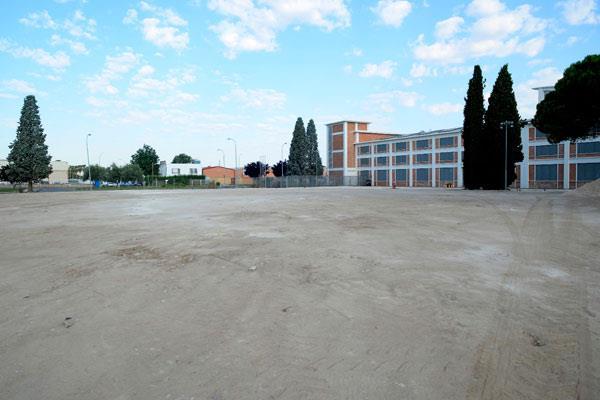 Ha comenzado el acondicionamiento del nuevo aparcamiento de la GAL
