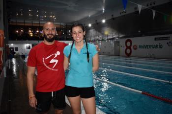 Hablamos con los monitores de natación del Centro Acuático y Deportivo El Galeón