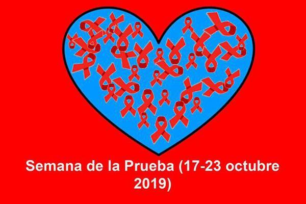 Hazte la prueba del VIH el 21 de octubre en el Centro 8 de Marzo
