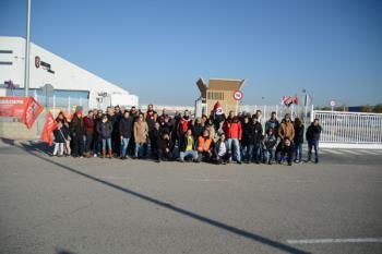 El personal del centro logístico más grande de Amazon en España, situado en San Fernando, parará durante la Navidad