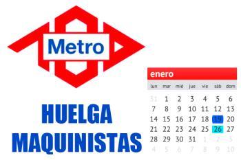 Los sindicatos de Metro no llegan a un acuerdo y continuarán sus paros en el servicio