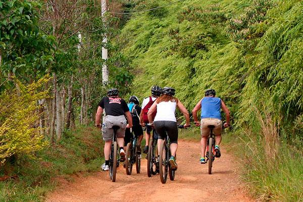 El consistorio humanense realizará tres rutas en bicicleta por los parajes que rodean el municipio