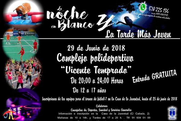 """Ambas actividades se realizarán en el Complejo Deportivo Municipal """"Vicente Temprado"""" de 20:00 a 00:00 horas"""
