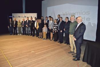 El Teatro Ana Diosdado acogió la entrega de galardones a 18 empresas e instituciones