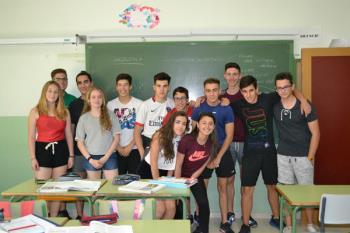 Los alumnos de bachillerato se vuelcan con el medio ambiente