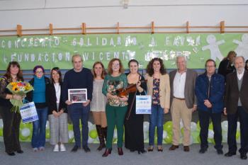 El colegio público Gandhi celebró este concierto interpretado por el grupo de cuerda de la Escuela de Música Dionisio Aguado