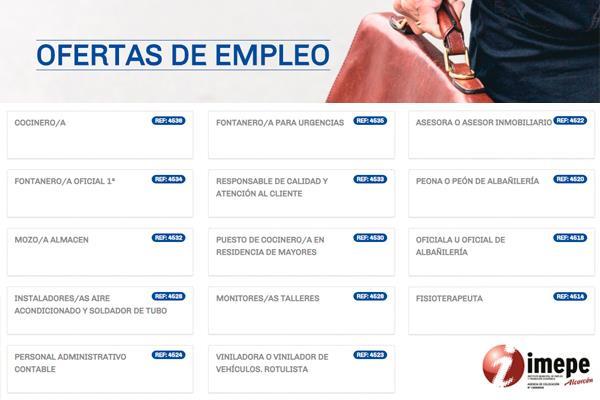 IMEPE Alcorcón cuenta con 50 ofertas de empleo
