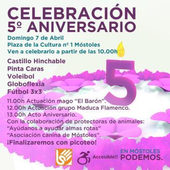 El acto político tendrá lugar en la Plaza de la Cultura, a las 13:00 horas