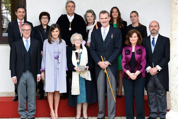 Ida Vitale recoge el Premio Cervantes 2018