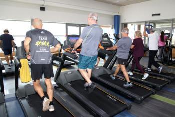 En concreto se han instalado 105 máquinas de cardio y 45 de musculación, entre otros equipos