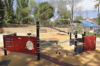Con esta reforma se ha convertido en el primer parque enfocado a la discapacidad en Alcobendas