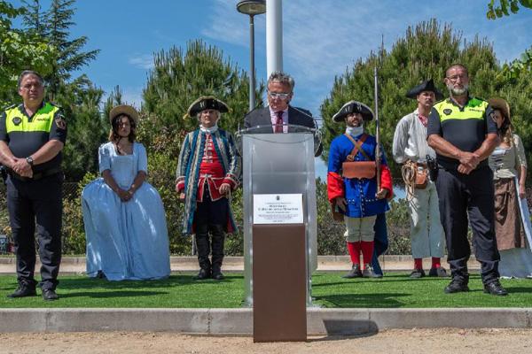 Narciso de Foxá ha inaugurado este parque en el que podría ser su último acto público