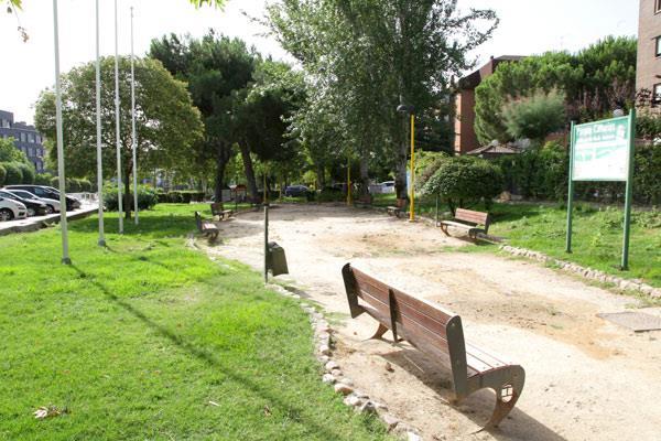 Inicio de las obras para la remodelación de los parques Canarias y Salamanca
