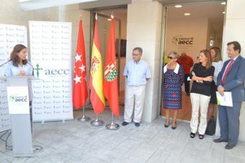 Conocemos la nueva sede de la Asociación Española Contra el Cáncer, situada  en Getafe, de la mano de Laura Ruiz de Galarreta, su presidenta