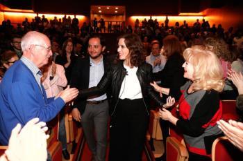 La candidata del PP a la Comunidad de Madrid lo ha anunciado durante un acto celebrado en el Teatro Josep Carreras de Fuenlabrada