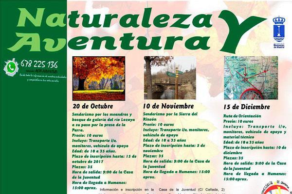 Los Jóvenes de Humanes de excursión por los entornos naturales de la Comunidad de Madrid