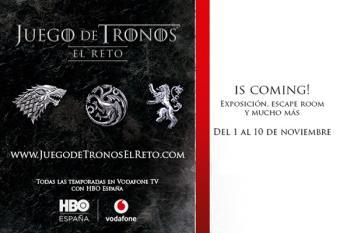 Del 1 al 10 de noviembre, Vodafone y HBO España nos llevan a los 7 Reinos