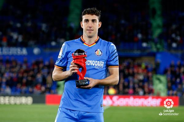 El delantero del Getafe ha sido convocado por Luis Enrique para jugar con la Selección Española