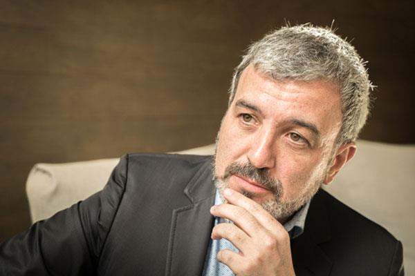 Entrevistamos al candidato a la Alcaldia de Barcelona por el PSC