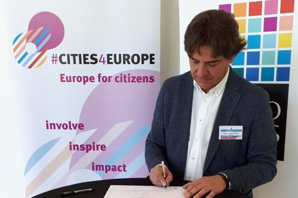 Javier Ayala, presente en el II Encuentro de Alcaldes por el futuro de Europa