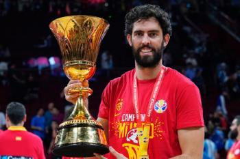Nuestro deportista consiguió el oro con España en el Mundial de Baloncesto de China