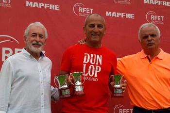 El veterano tenista alfarero volvió a triunfar en un torneo nacional