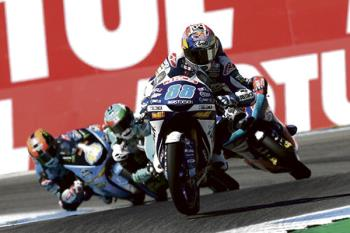 Su segundo puesto en el GP de San Marino le coloca primero en la clasificación mundial