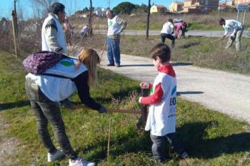 La actividad se realizará el próximo domingo 17 de noviembre a lo largo de la Vía Verde a su paso por la Urbanización Parque Guadarrama