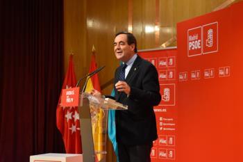 José Bono fue premiado por el PSOE de Leganés.