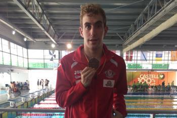 El nadador mostoleño rozó, además, el récord mundial, del que se quedó a tan solo 3 décimas