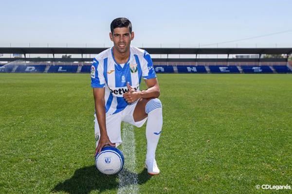 El alcalaíno Juanfran, nuevo jugador del C.D. Leganés