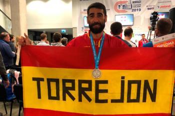 El atleta torrejonero, Campeón en los 3.000 y Subcampeón de los 800