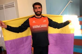 El atleta torrejonero sumó una nueva medalla en la prueba celebrada en el Polideportivo Gallur