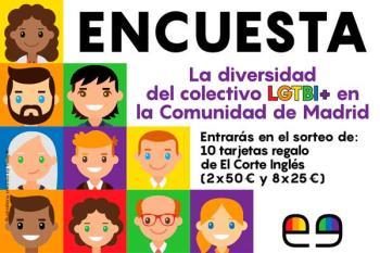 La diversidad del colectivo LGTBI+ en la Comunidad de Madrid, un estudio que pretende conocer más de cerca el consumo de sustancias y hábitos sexuales.