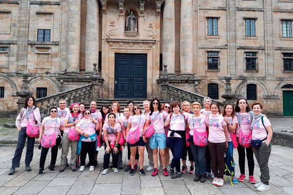 La 'Marea Rosa de Getafe' llega hasta Santiago