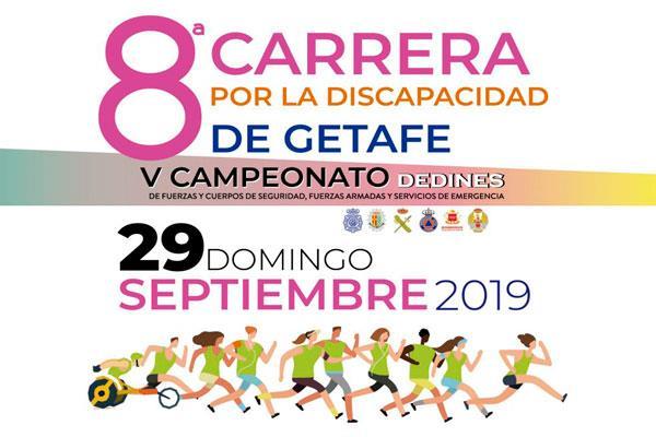 La Asociación 'Dedines' celebra la octava edición de la Carrera por la Discapacidad