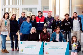 La asociación fuenlabreña, junto con la 'Fundación Cris contra el cáncer', han recibido 5.000 euros para continuar con sus proyectos