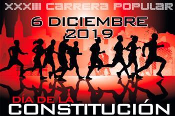 Torrejón organiza la XXXIII Carrera Popular Día de la Constitución el próximo 6 de diciembre