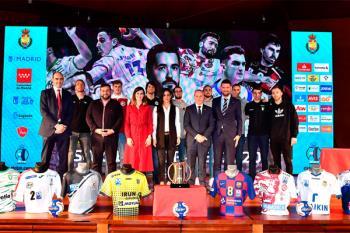 La Real Federación Española de Balonmano ha celebrado el sorteo en el Palacio de Cibeles