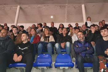 El equipo fuenlabreño invitó a la escuela al partido del domingo