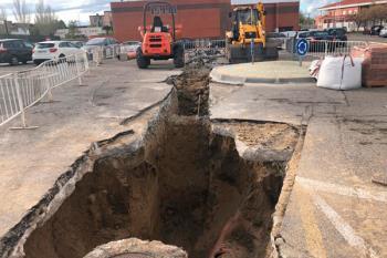 El Canal de Isabel II ha apostado por medrar las instalaciones con el fin de evitar posibles inundaciones