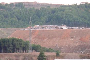 """Desde la federación lamentan la """"dejadez"""" de la Comunidad para revertir la colmatación del vertedero"""
